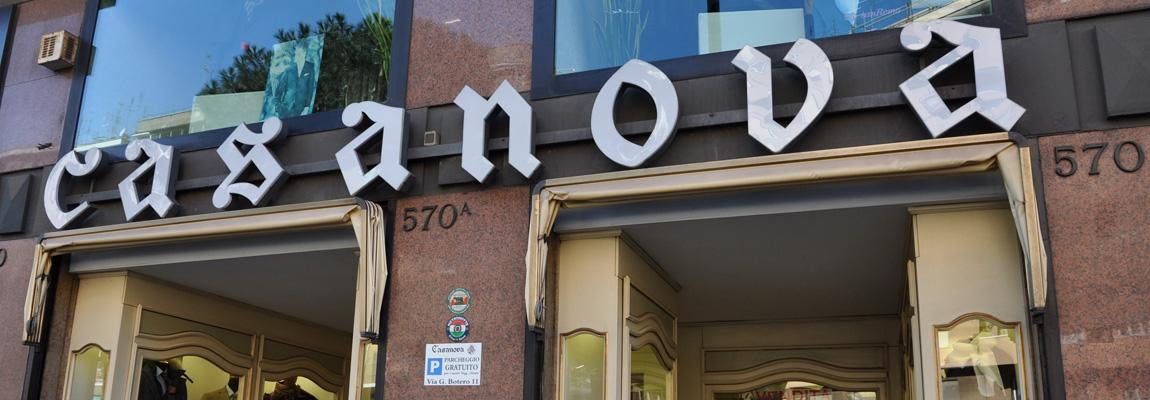 Il negozio Casanova